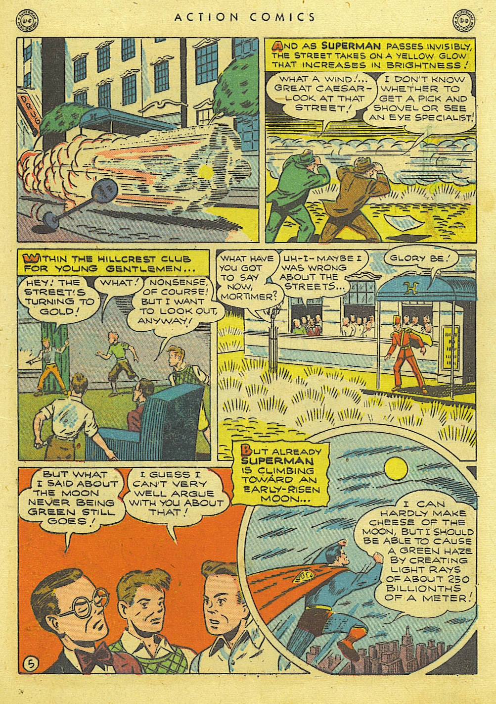 Read online Action Comics (1938) comic -  Issue #89 - 7