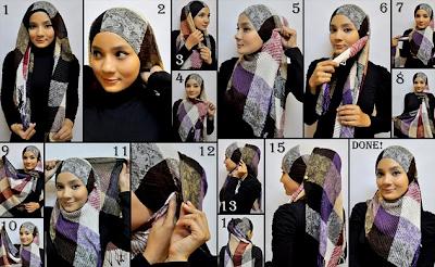 Tips Memakai Jilbab Modern 2017