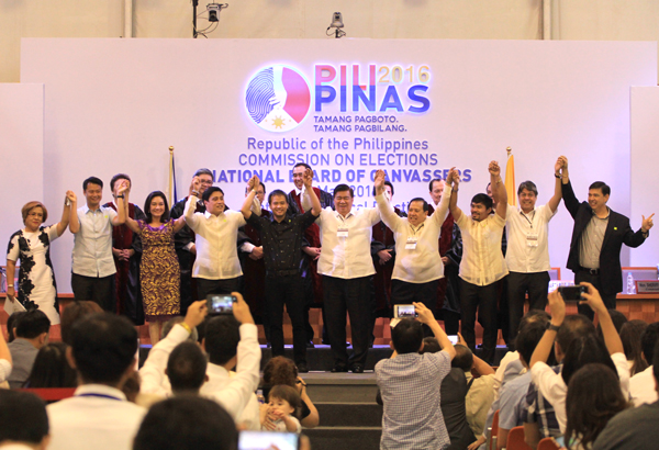Comelec proclaims winners of 2016 Senatorial elections