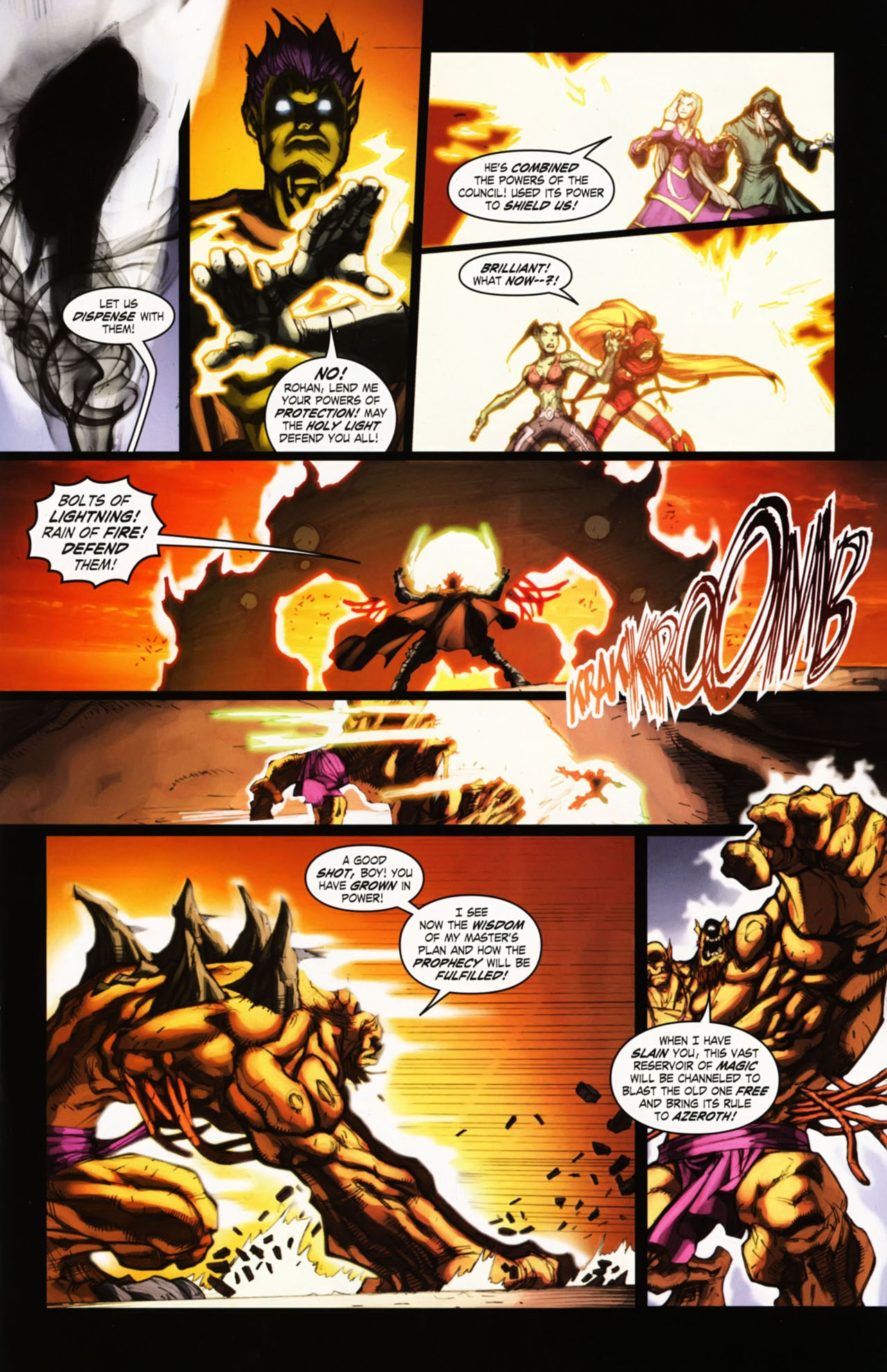 Read online World of Warcraft comic -  Issue #25 - 16