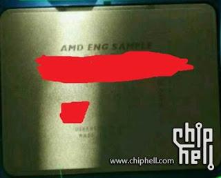 Foto CPU AMD EPYC 64-Cores
