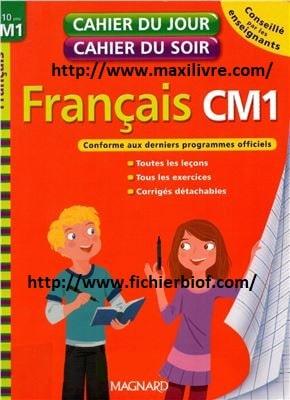 Cahiers du jour cahier du soir - français CM1