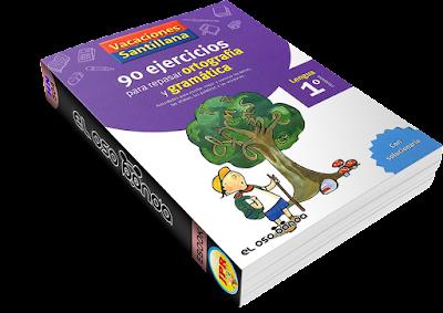 Santillana 1 Primaria 90 Ejercicios para Repasar Ortografía y Gramática