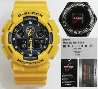 Jual Jam G shock warna kuning