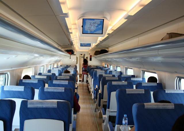 Viagem de trem de Lisboa a Barcelona