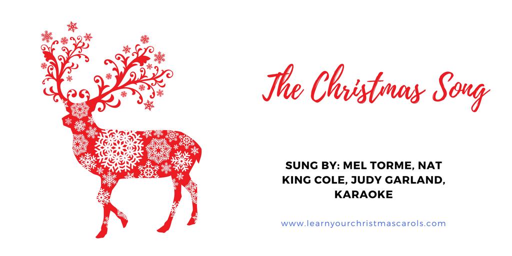 Karaoke Christmas Songs.Learn Your Christmas Carols The Christmas Song Lyrics
