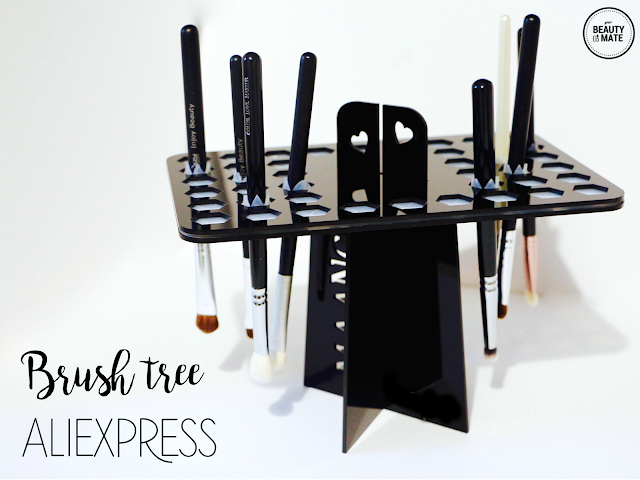 [Accessori] Makeup brush tree / drying tower 42 fori - AliExpress
