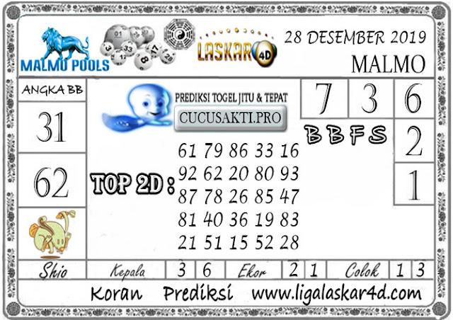 Prediksi Togel MALMO LASKAR4D 28 DESEMBER 2019