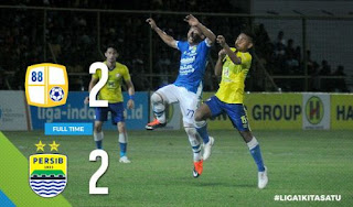 Barito Putera vs Persib Bandung 2-2 Video Gol & Highlights #PersibDay