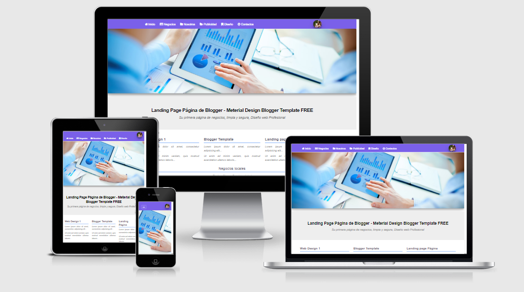 ¿Cómo crear una Landing page en una página de Blogger? Negocios