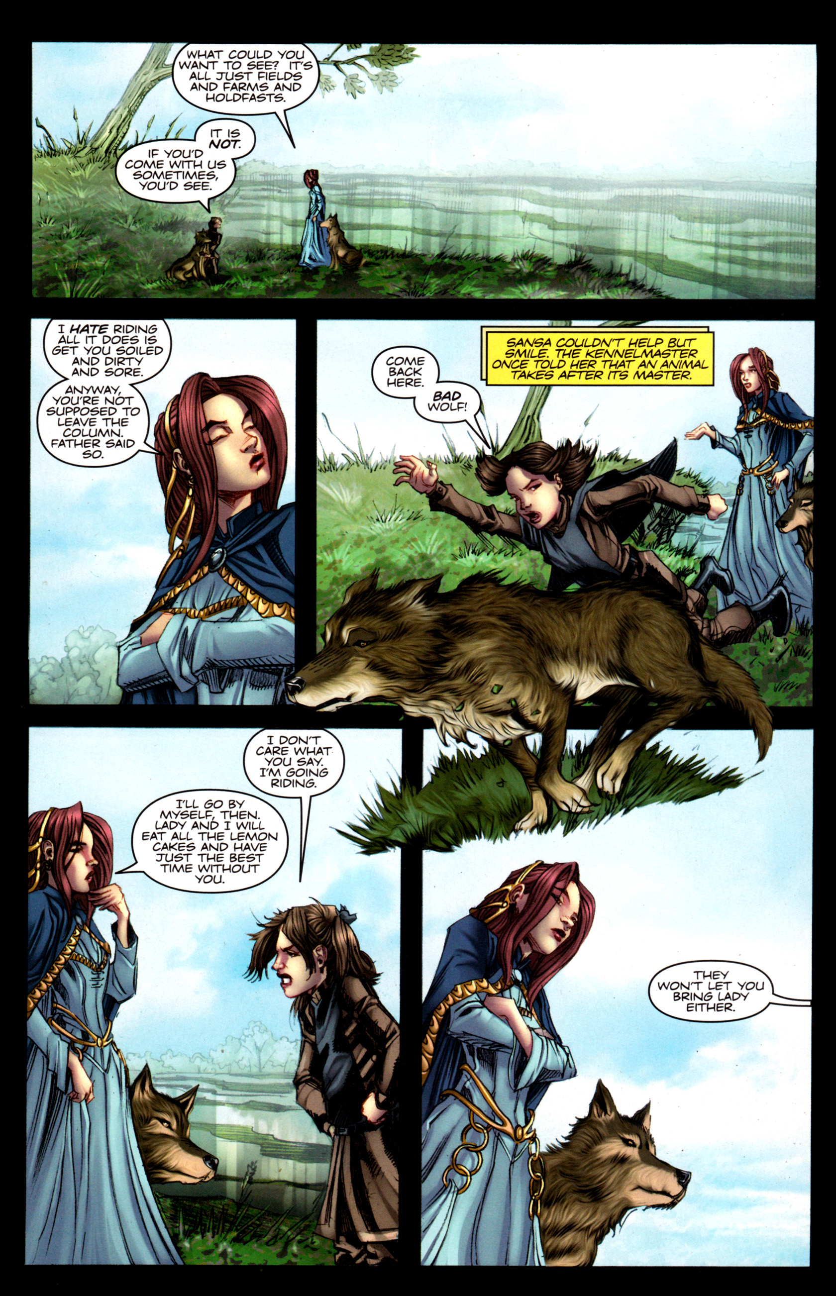 Read online A Game Of Thrones comic -  Issue #5 - 4