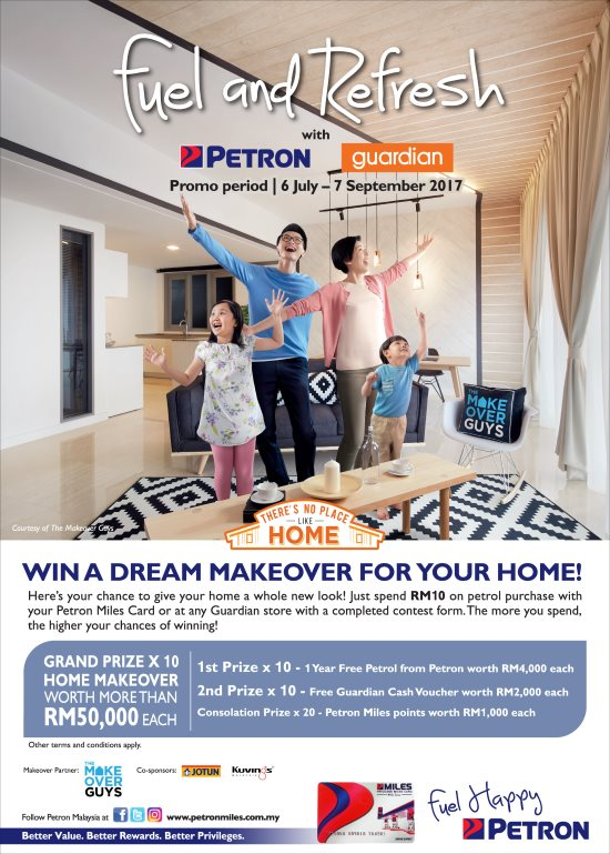 Win A Home Makeover Contest Malaysia Online And Offline