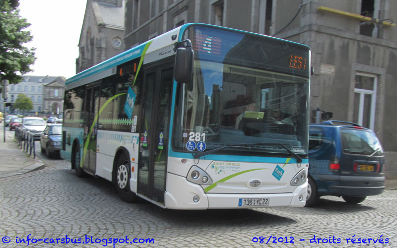 info cars bus heuliez gx 127 tub st brieuc. Black Bedroom Furniture Sets. Home Design Ideas