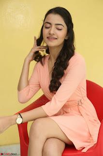 Rukshar Mir in a Peachy Deep Neck Short Dress 088.JPG