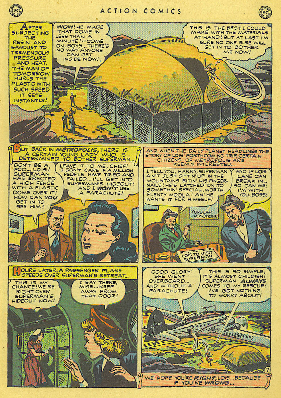Read online Action Comics (1938) comic -  Issue #140 - 9