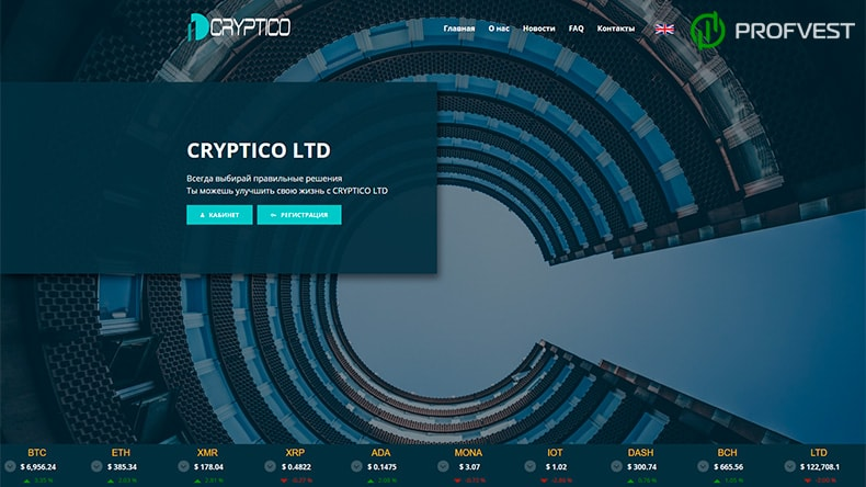 Cryptico обзор и отзывы HYIP-проекта