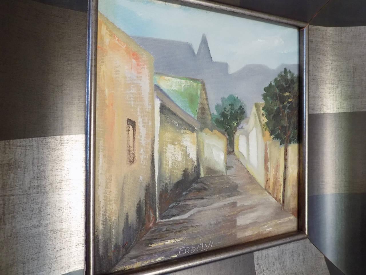 autentyczny obraz zakupiony podczas podróży