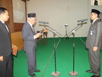 Suparnyo Kembali Jabat Rektor Universitas Muria Kudus