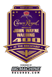 Crown Royal Presents the John Wayne Walding 400 #NASCAR
