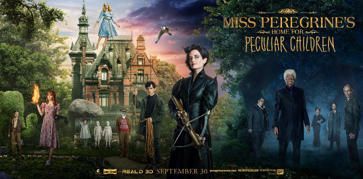 MOVIES: Miss Peregrine's Home for Peculiar Children - Trailers feat Eva Green
