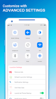 OS 12 X Launcher v1.0 Pro Apk Is Here !