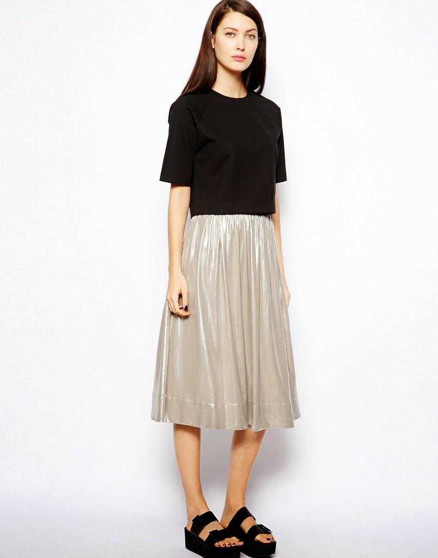 Foil Skirt 121