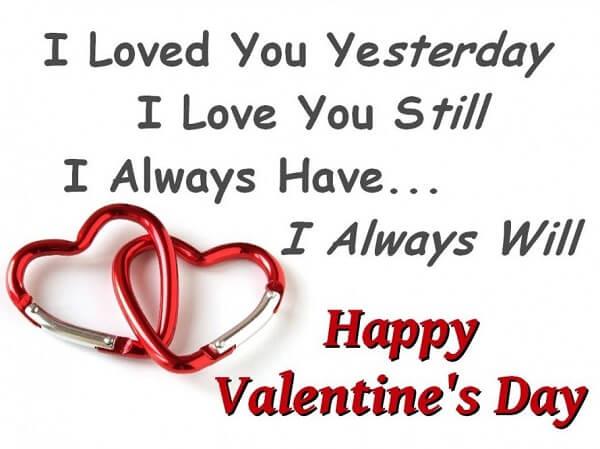 Happy Valentine's Day to My Husband