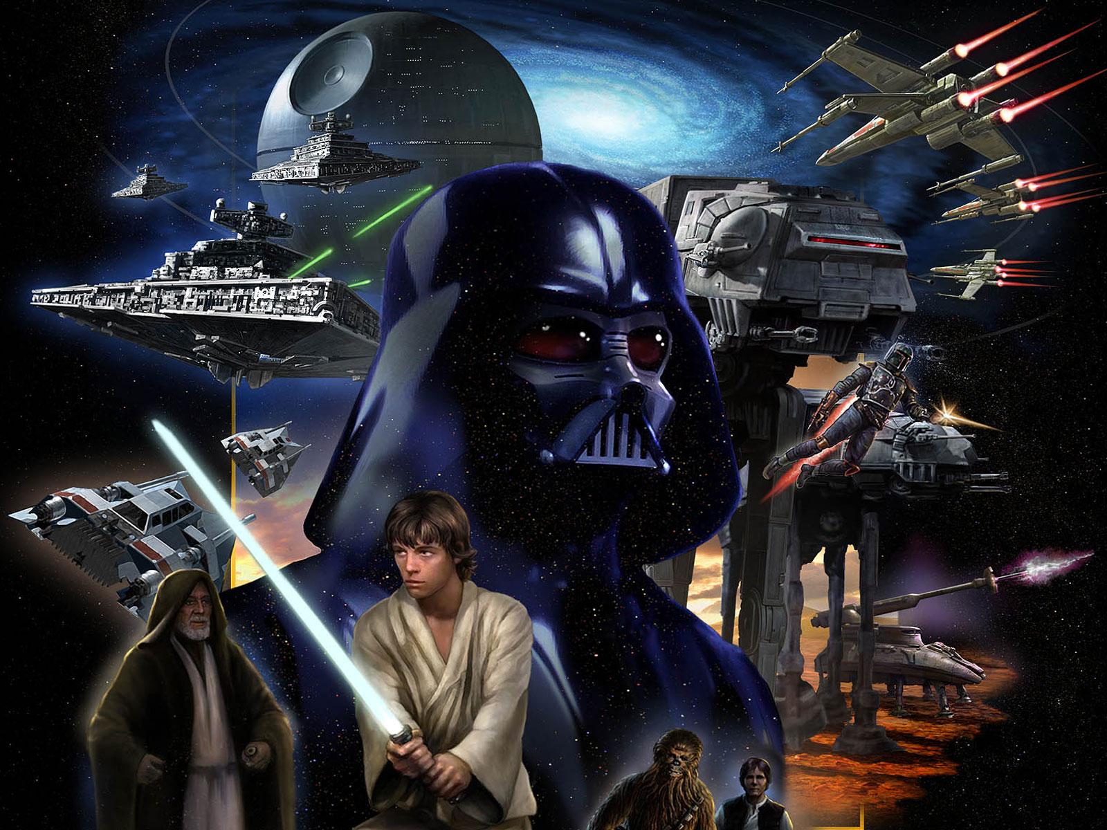Star Wars At At Wallpaper: HD WALLPAPERS: STAR WARS HD IMAGES