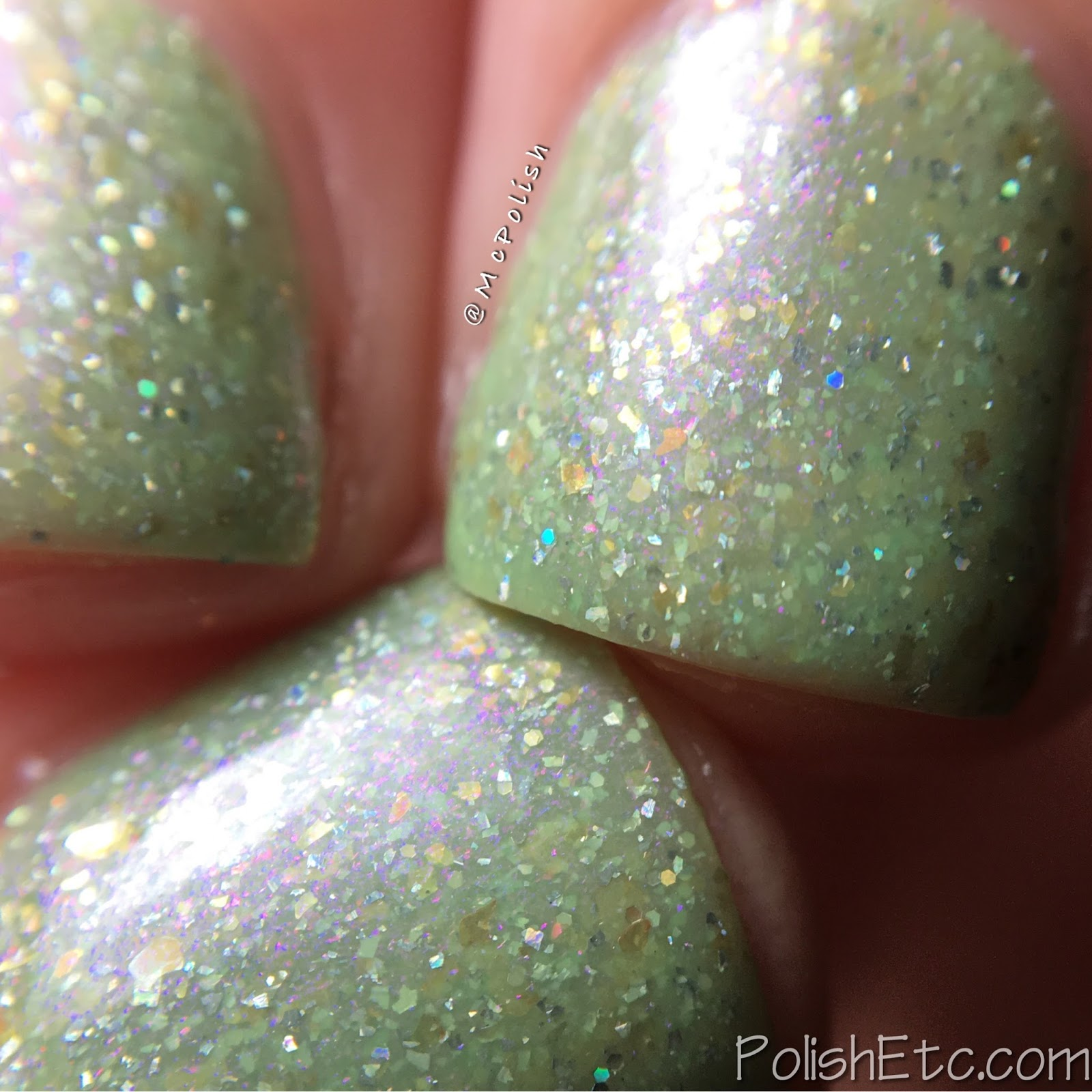 Indies Outside the Box: Fan-tastic Customs - McPolish - Every Leaf Speaks Bliss To Me by Lollipop Posse Lacquer