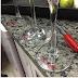 Marcando seu copo de vinho