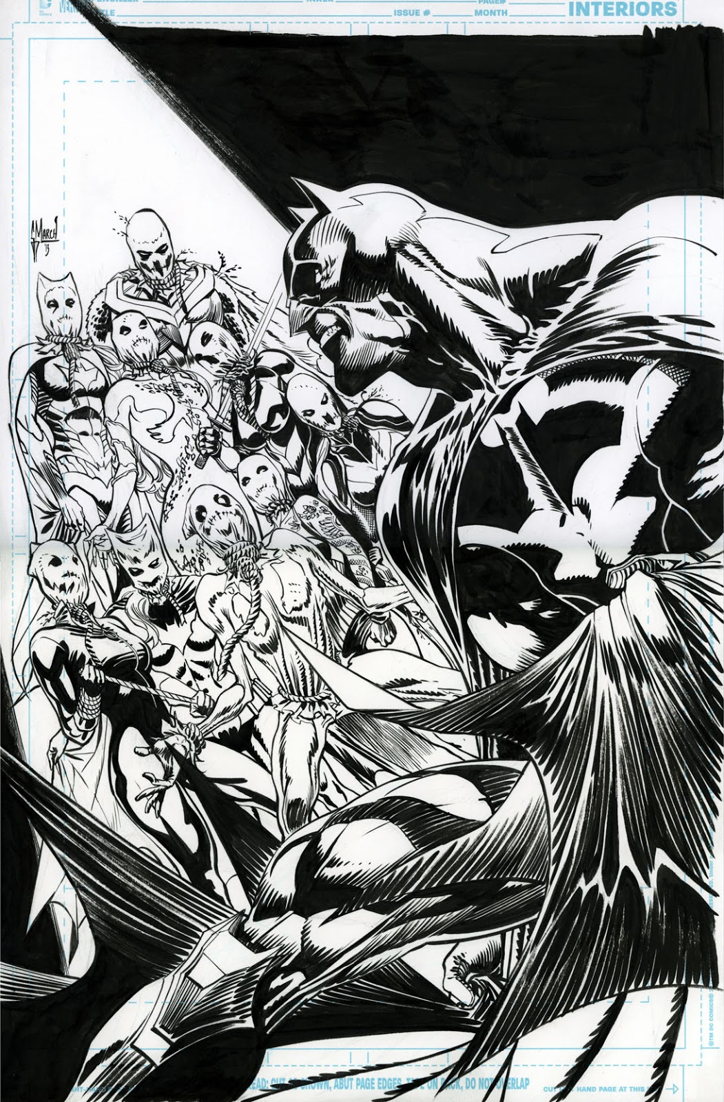 Making of a cover: DETECTIVE COMICS 29 by Guillem March