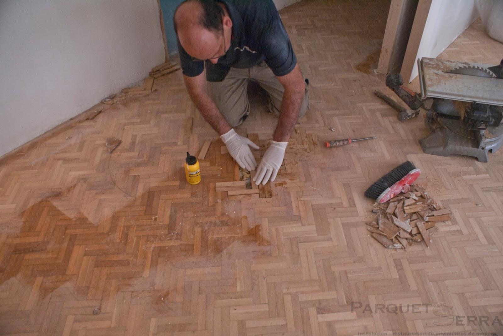 Como arreglar mi parquet - Reparar piso parquet ...