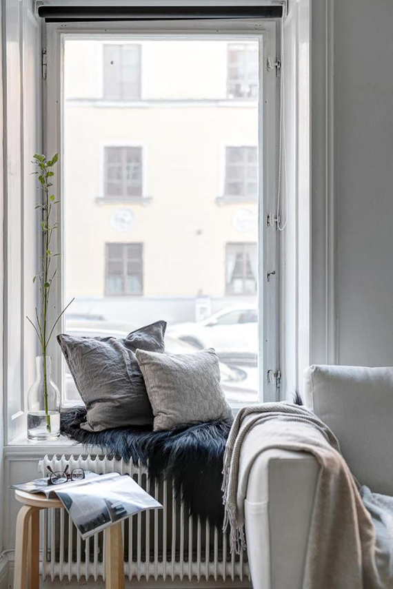 Window seating nook