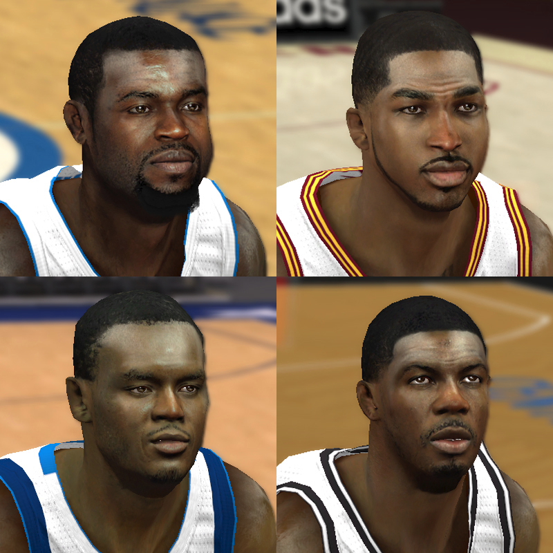 NBA 2K14 Mod Face Update Pack #6
