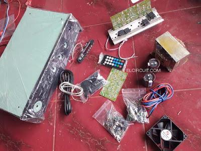 DIY Making power amplifier