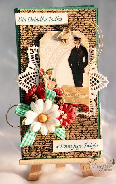 męska kartka, czekoladownik, kartka dla dziadka, kartka dla chłopaka, Magiczna Kartka, Mars i Venus inspiracje