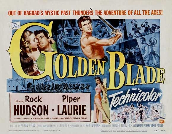 The Golden Blade movie poster