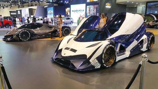 El Devel Sixteen es ahora el auto mas rapido del mundo