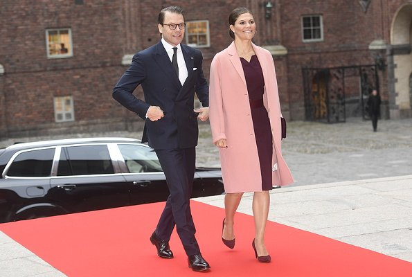 Crown Princess Victoria wore Acne Studios Avalon Double Coat. Princess Sofia, Queen Silvia, Rizzo Pumps