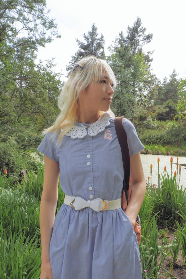alice inspired fashion blog post