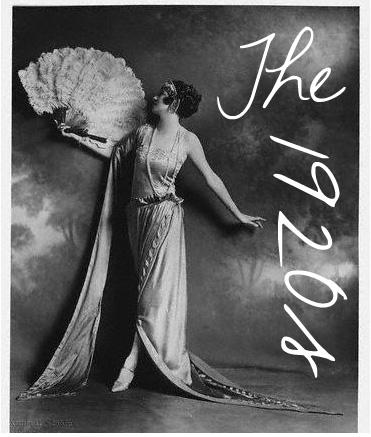 Blushing Beauty: Fashion Thru The Decades : 1920's