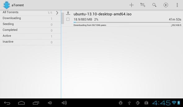 aTorrent, Aplikasi Torrent Terbaik Untuk Android