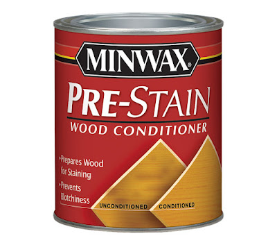 Pre stain conditioner from Minwax