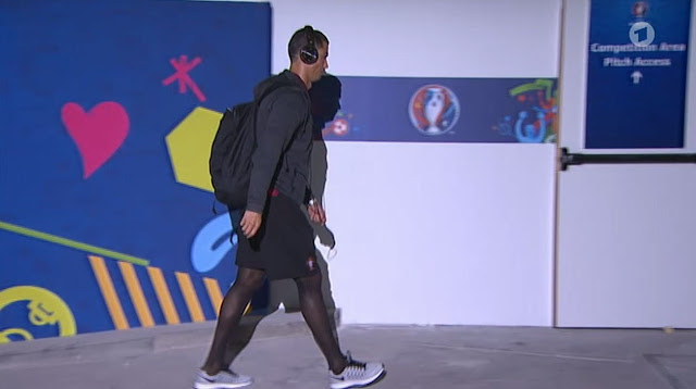 86c24077744a5 Hosiery For Men: Portugal ace Cristiano Ronaldo spotted wearing ...