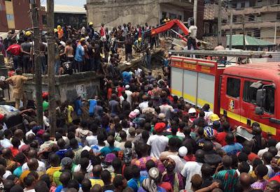 Crianças morrem em desabamento de edifício onde funciona escola na Nigéria