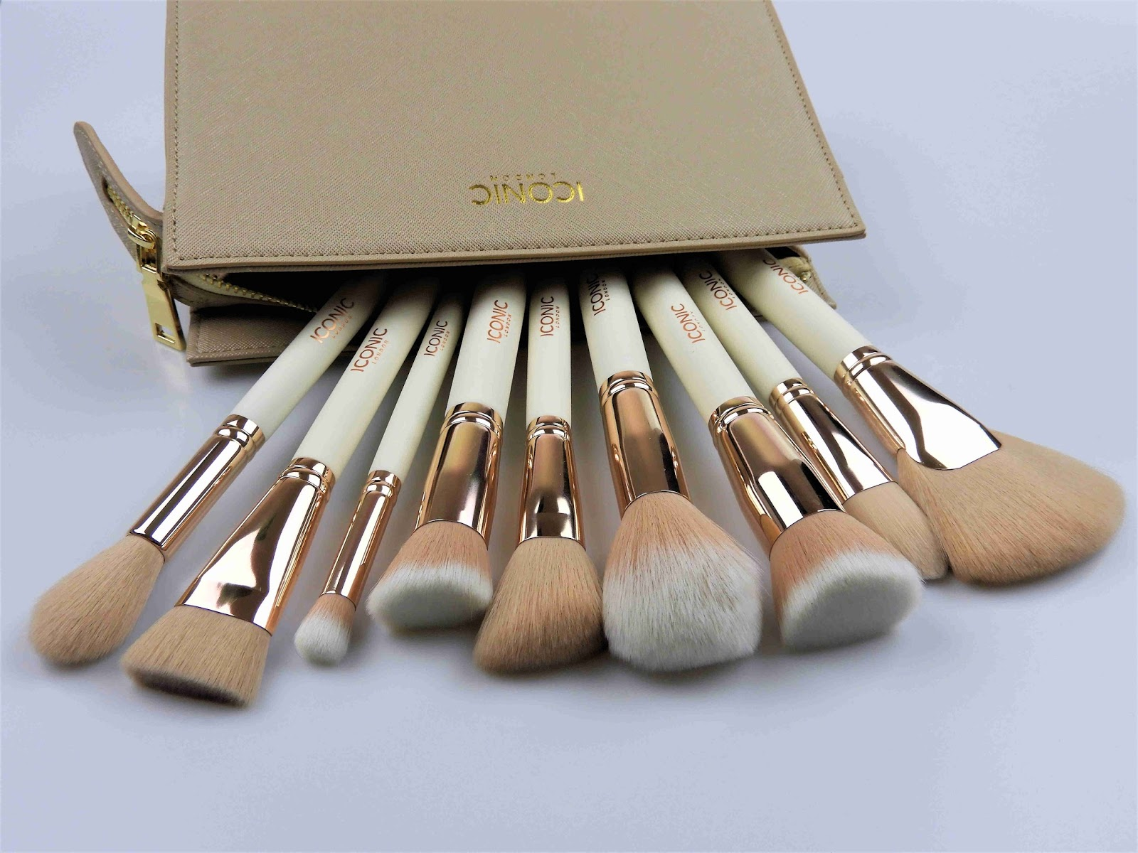 e2576f0885ca Cream & Gold Complete Face Set by Iconic London - beautyblog_shan