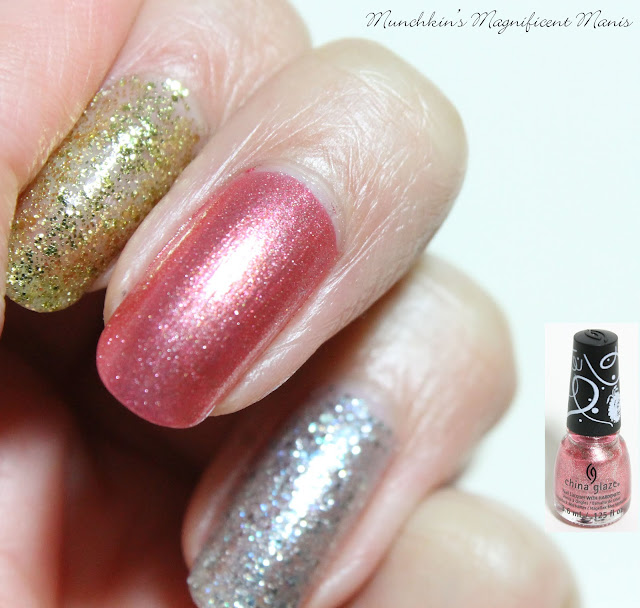 China Glaze Holiday Sesame Street Collection, Giggling All The Way