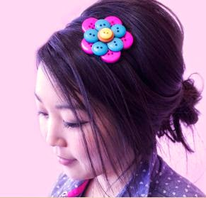 accesorio- de botones-para-el-cabello