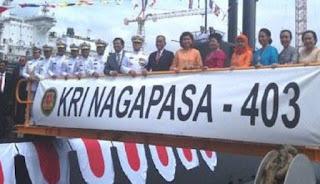TNI Punya Kapal Selam Canggih Buatan Korsel, KRI Nagapasa