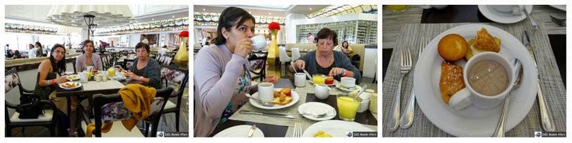 Onde ficar em Cancun - Café da manhã do Moon Palace Resort